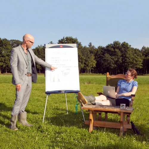 Foto van: Vergaderen en teambuilding in de natuur van Drenthe.