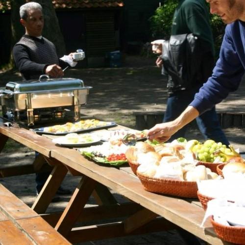 Taribush Boslunch. Heerlijke uitgebreide lunch voor onze groepsuitjes.
